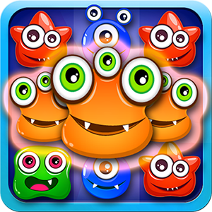 Flurry Monster - Candy Jewel Star Match 3 Game