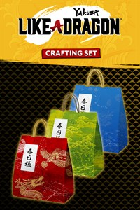 Carátula del juego Yakuza: Like a Dragon Crafting Mat Set