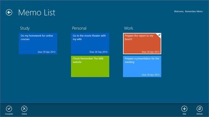 Купить <b>Memo List</b> — Microsoft Store (ru-RU)