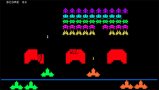Retro Invaders screenshot 1
