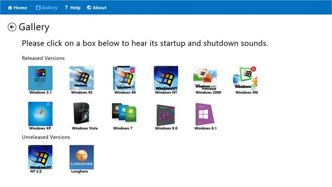 Get Collection of Windows Startup Sounds - Microsoft Store