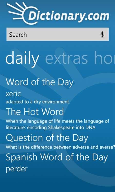 Dictionary.com Screenshots 1