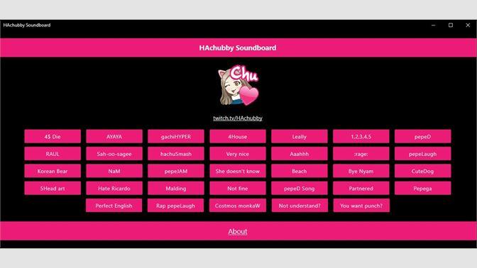 Get HAchubby Soundboard - Microsoft Store