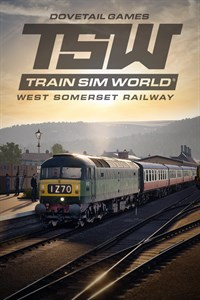 Carátula para el juego Train Sim World: West Somerset Railway de Xbox 360