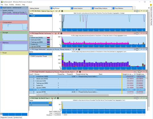Windows Performance Analyzer screenshot 3