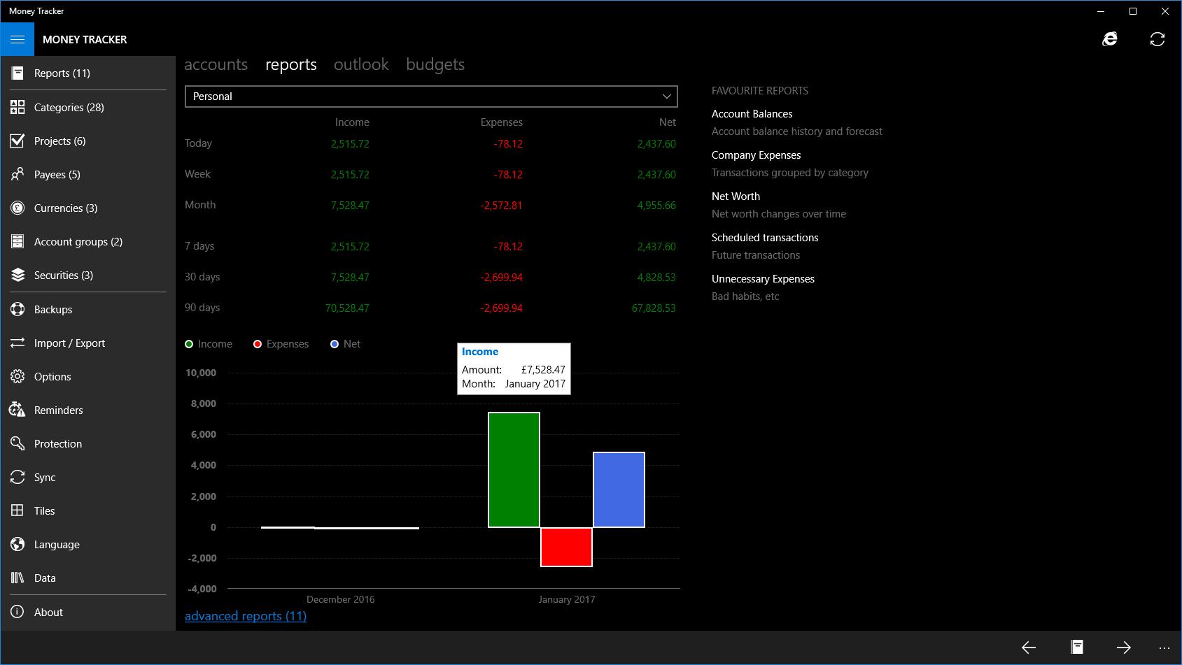 Money Tracker Pro