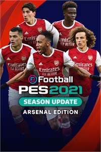 Carátula para el juego eFootball PES 2021 SEASON UPDATE ARSENAL EDITION de Xbox 360