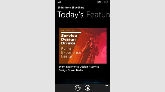 Get Slides From Slideshare Microsoft Store