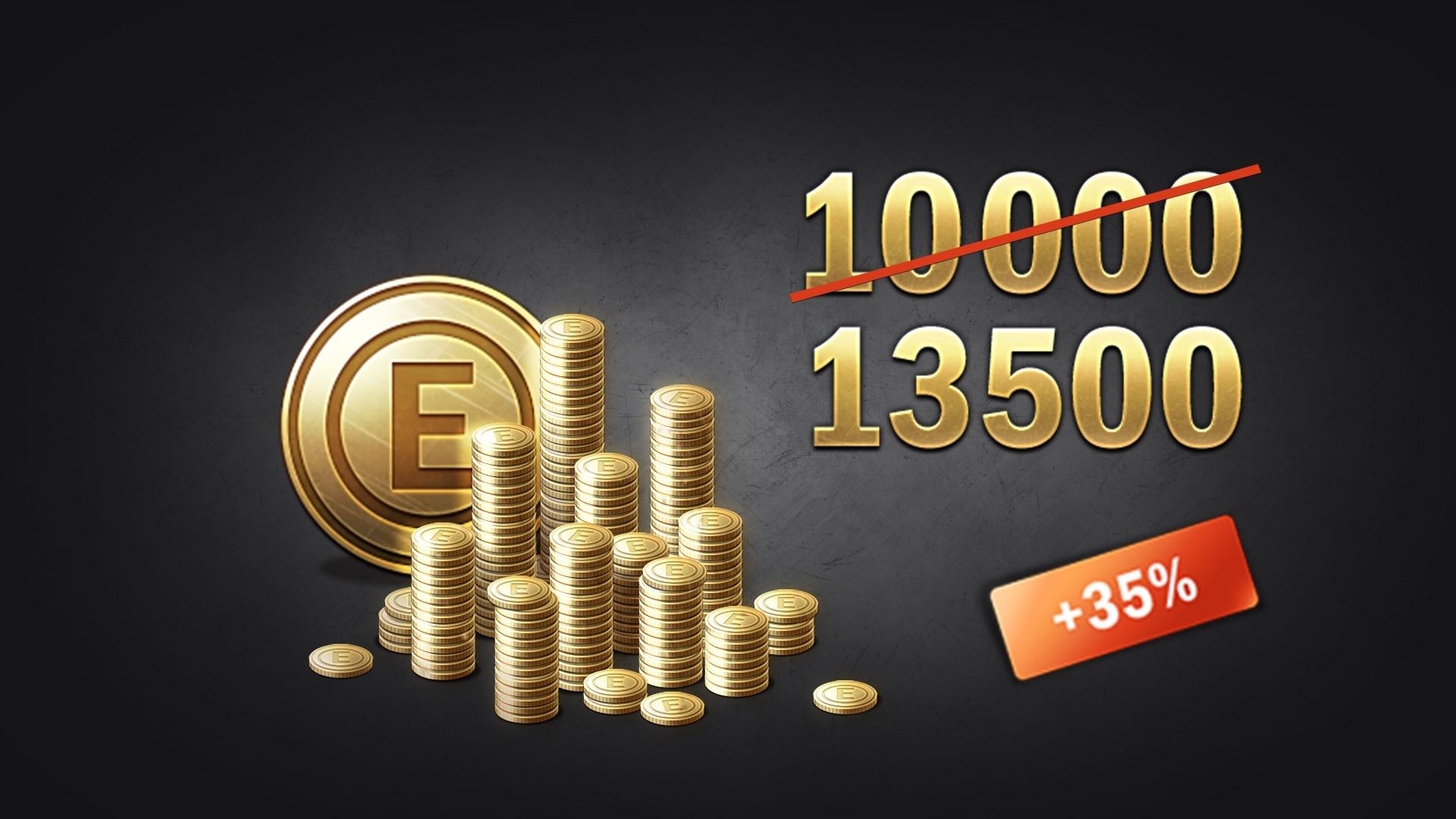Enlisted - 10000 Gold + 3500 Bonus