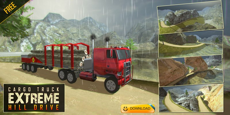 Get Cargo Truck Extreme Hill Drive - Mountain Driver