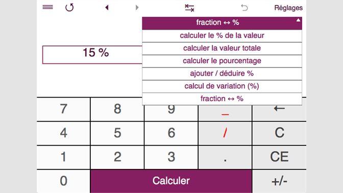 Acheter Smart Percentage Calculator Microsoft Store Fr Td