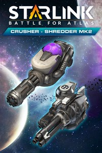 Starlink: Battle for Atlas™ - Crusher Shredder & Mk.2 Weapon Pack