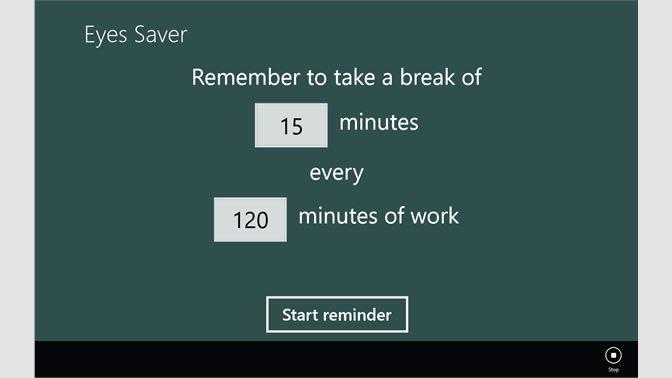 Get Eyes Saver - Microsoft Store