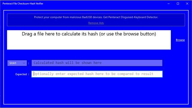 Get Penteract File Checksum-Hash Verifier - Microsoft Store