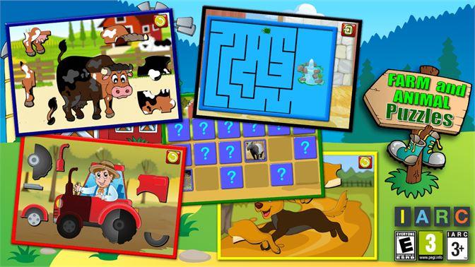 Kinder Bauernhof Und Tier Puzzle Beziehen Microsoft Store De De
