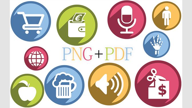 Buy Clipart Collection - Icons for MS Office Document, Presentation