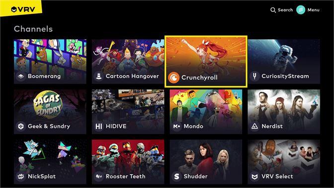 Get VRV - Microsoft Store