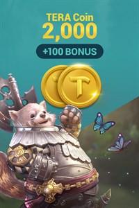 [NA/EU] TERA Coin 2,000 (+100 BONUS)