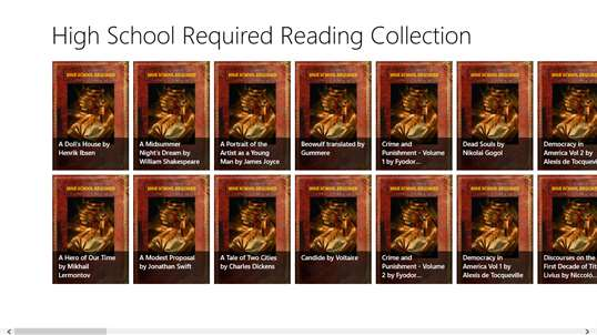 High School Required Reading Collection screenshot 1