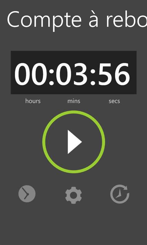 Recevoir chronom tre minuteur microsoft store fr fr - Chronometre et minuteur ...