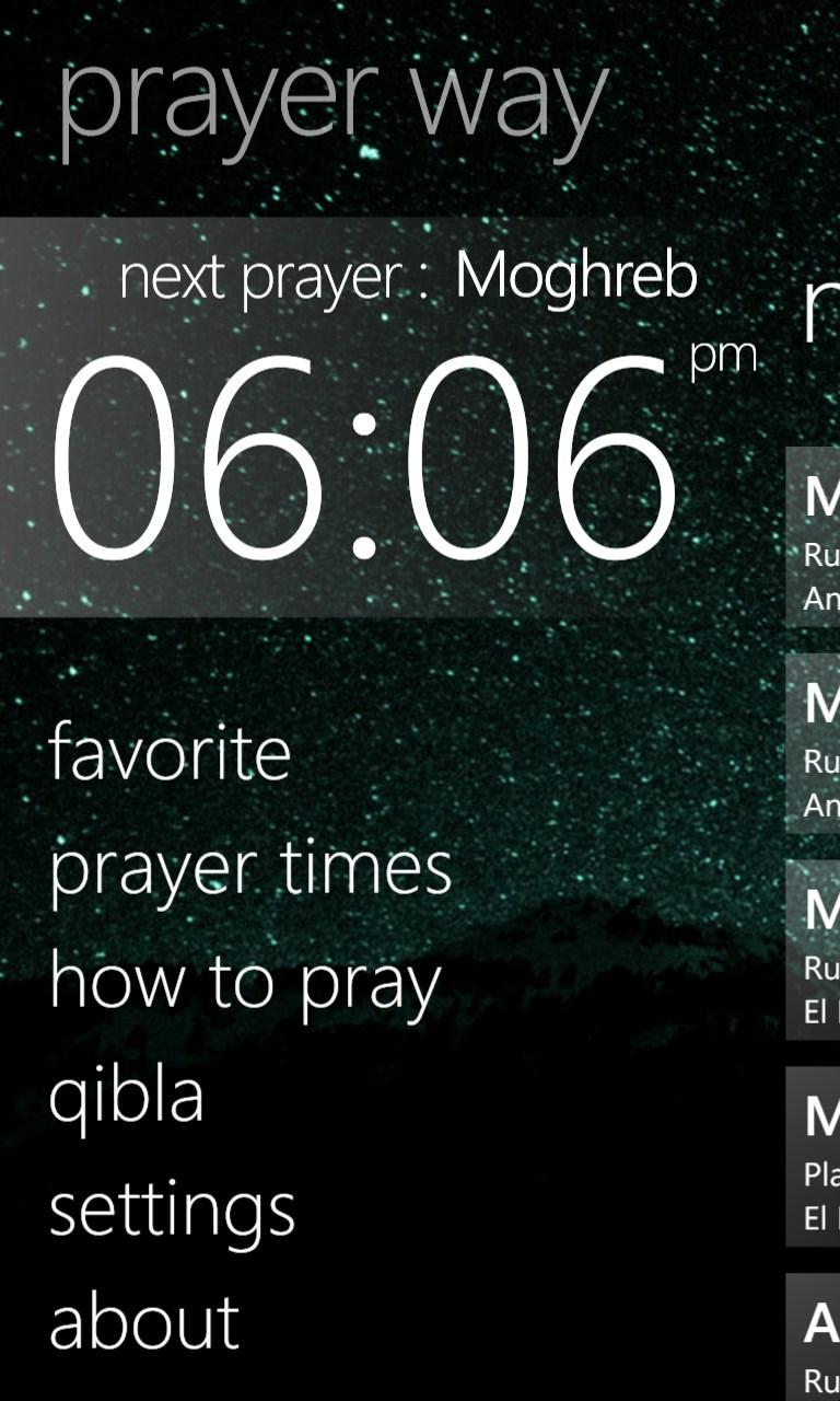 Prayer Way
