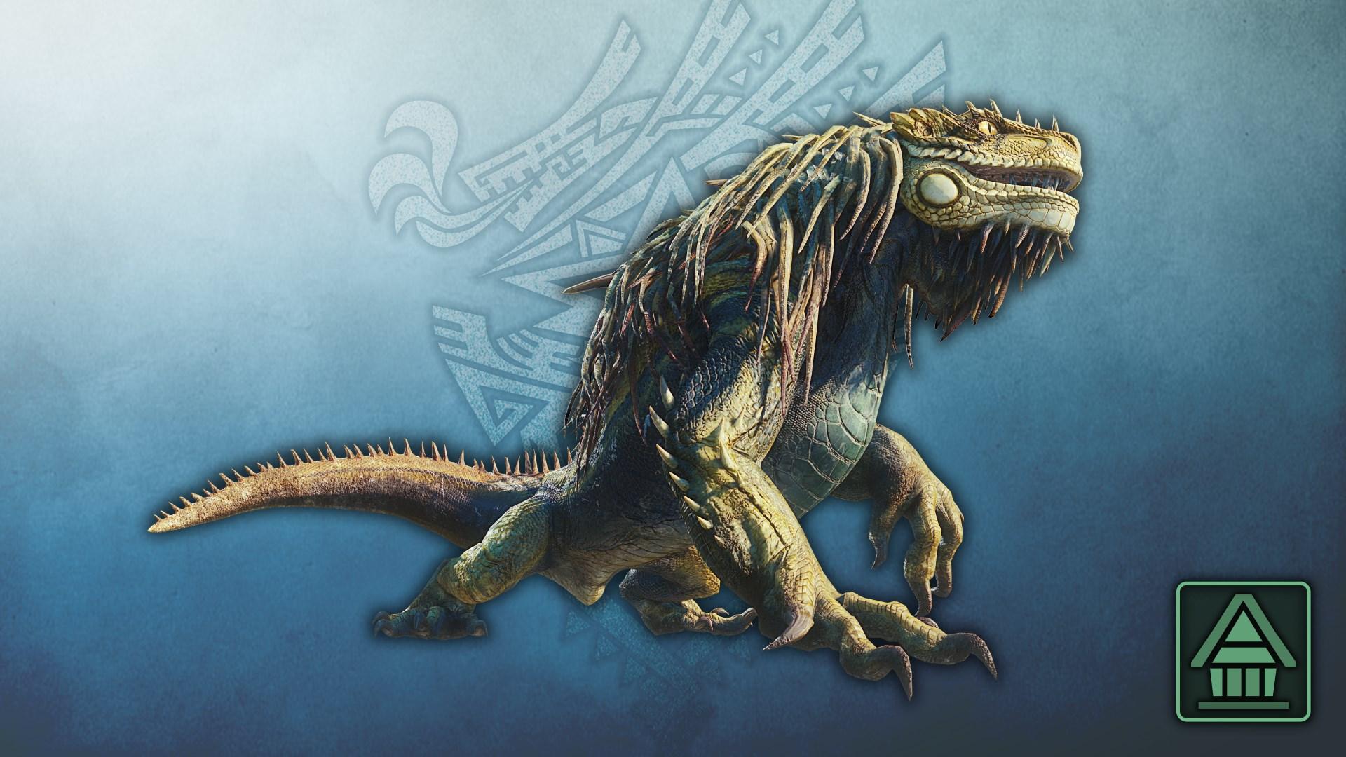 MHW:I-monsterfiguur: Great Jagras