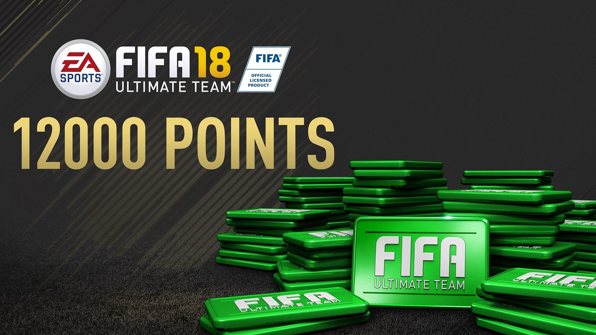 Pacote de 12.000 FIFA 18 Points