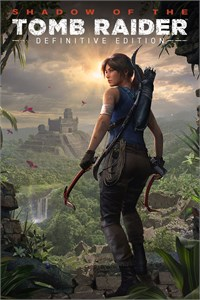 Carátula para el juego Shadow of the Tomb Raider Definitive Edition de Xbox 360