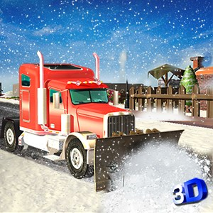 Get Heavy Snow Plow Truck Driver 3D - Rescue Operation