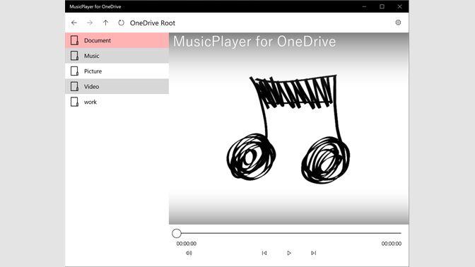 Get MusicPlayer for OneDrive - Microsoft Store