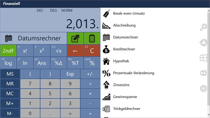 Financial Calculator Pro kaufen – Microsoft Store de-CH