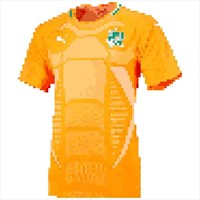 Pata Football Shirts Logo Color By Number Pixel Art