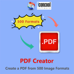 PDF Creator - Create a PDF from 500 Image Formats Logo