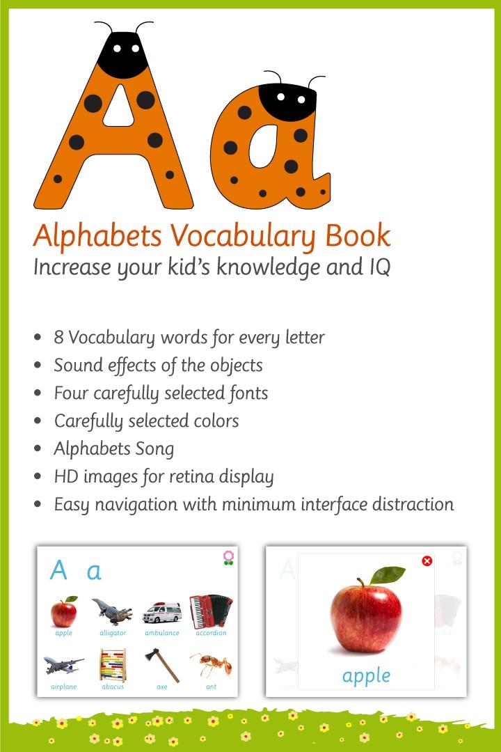 Get Alphabet Vocabulary Book - Microsoft Store
