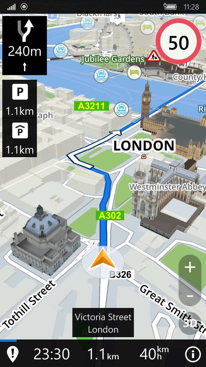 Sygic: GPS Navigation, Maps & POI, Route Directions