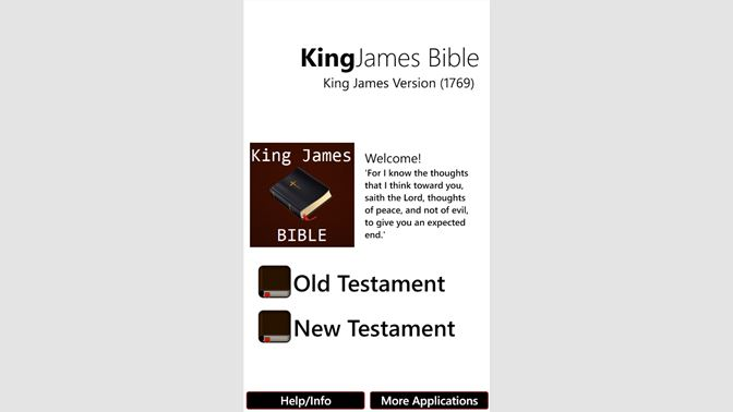 Get King James Bible (KJV) Offline - Microsoft Store