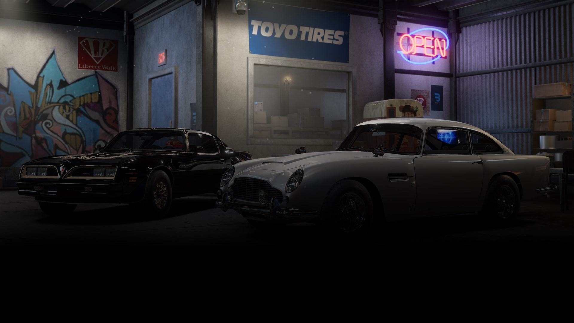 Need for Speed™ Payback: Pontiac Firebird & Aston Martin DB5 Superbuild Bundle