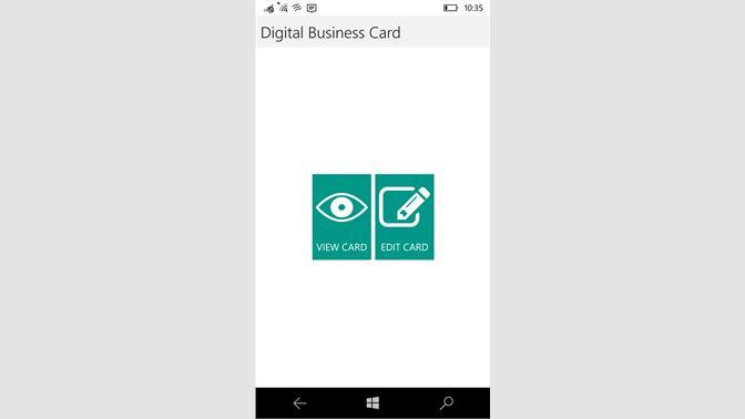 Baixar digital business card microsoft store pt br captura de tela reheart Images