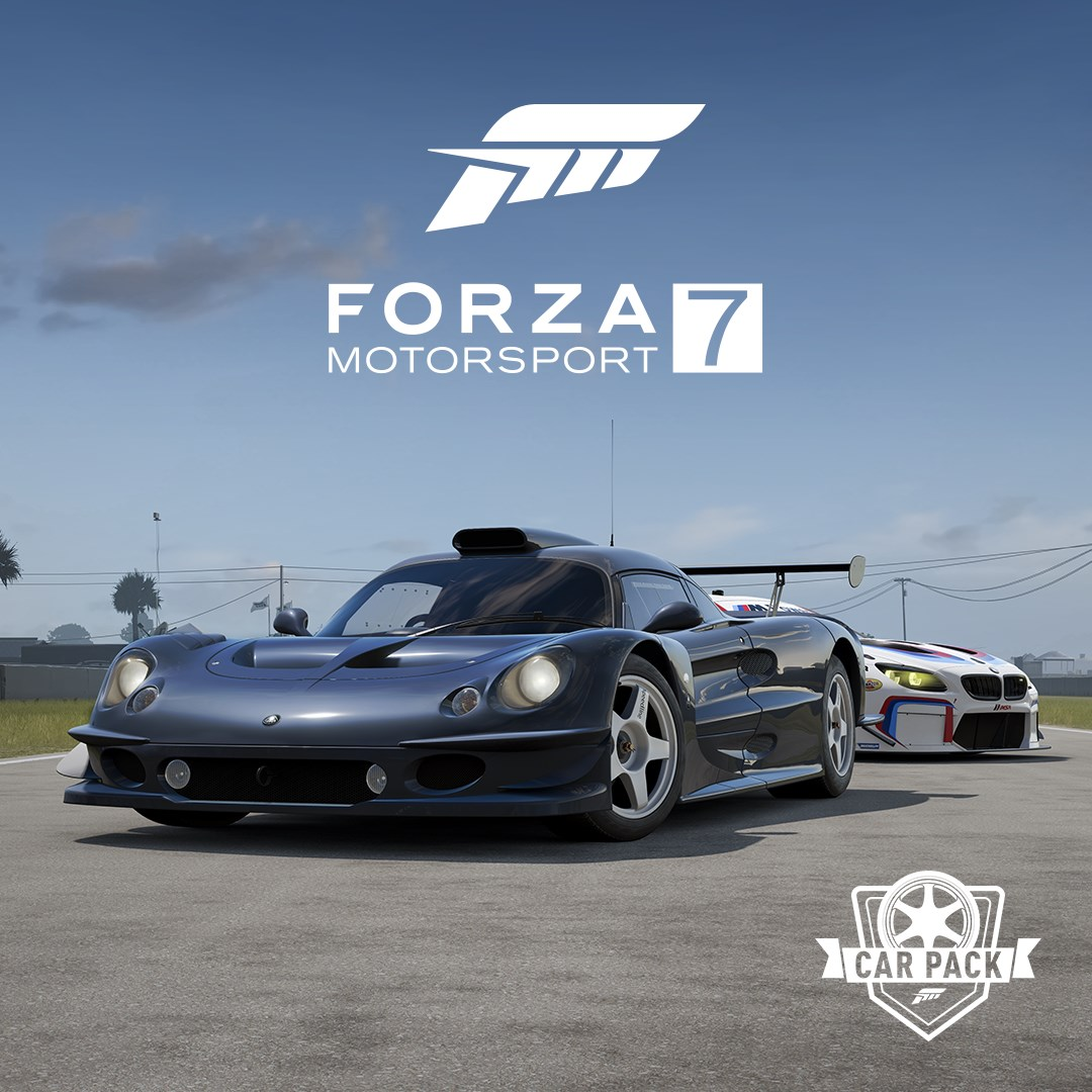 Totino's Forza Motorsport 7 Car Pack, featuring a Lotus Elise GT1
