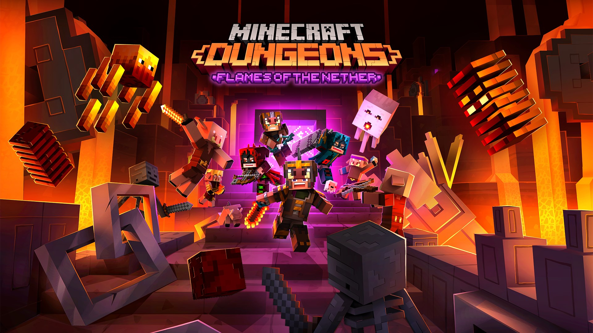Minecraft Dungeons: Chamas do Nether