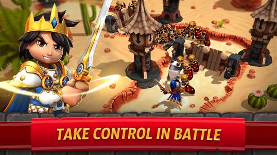 Royal Revolt 2: Tower Defense screenshot 1