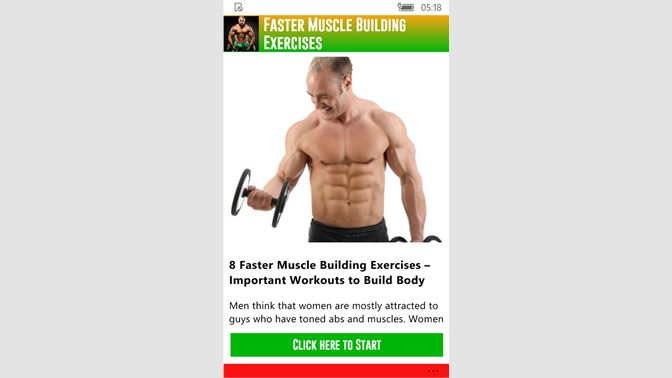 Get Faster Muscle Building Exercises