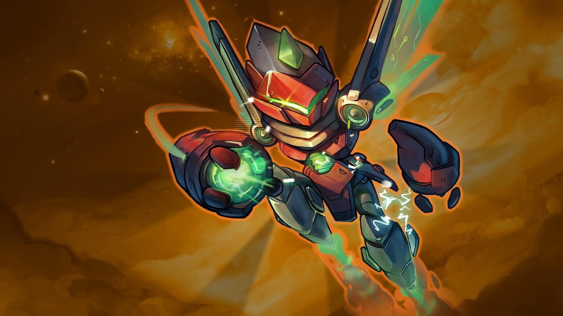 Steel Seraph Ix - Awesomenauts Assemble! Skin