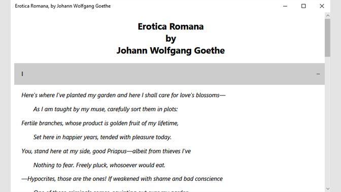 Buy Erotica Romana, by Johann Wolfgang Goethe - Microsoft Store en-ZA