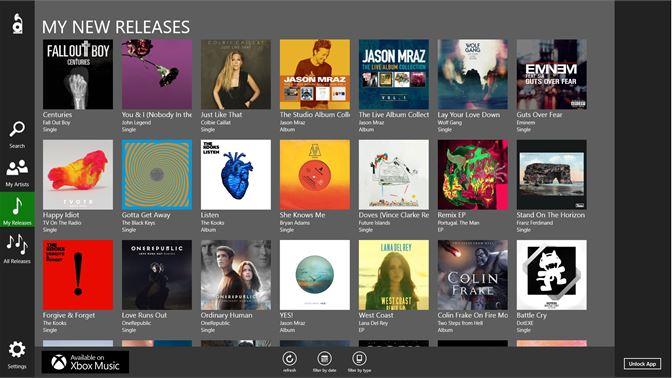 Get Album Releases - Microsoft Store