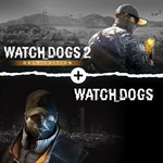 Watch Dogs 1 + Watch Dogs 2 Gold Editions Bundle Logo
