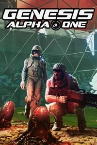 Carátula para el juego Genesis Alpha One de Xbox 360