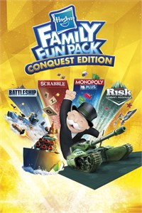 Carátula del juego Hasbro Family Fun Pack Conquest Edition