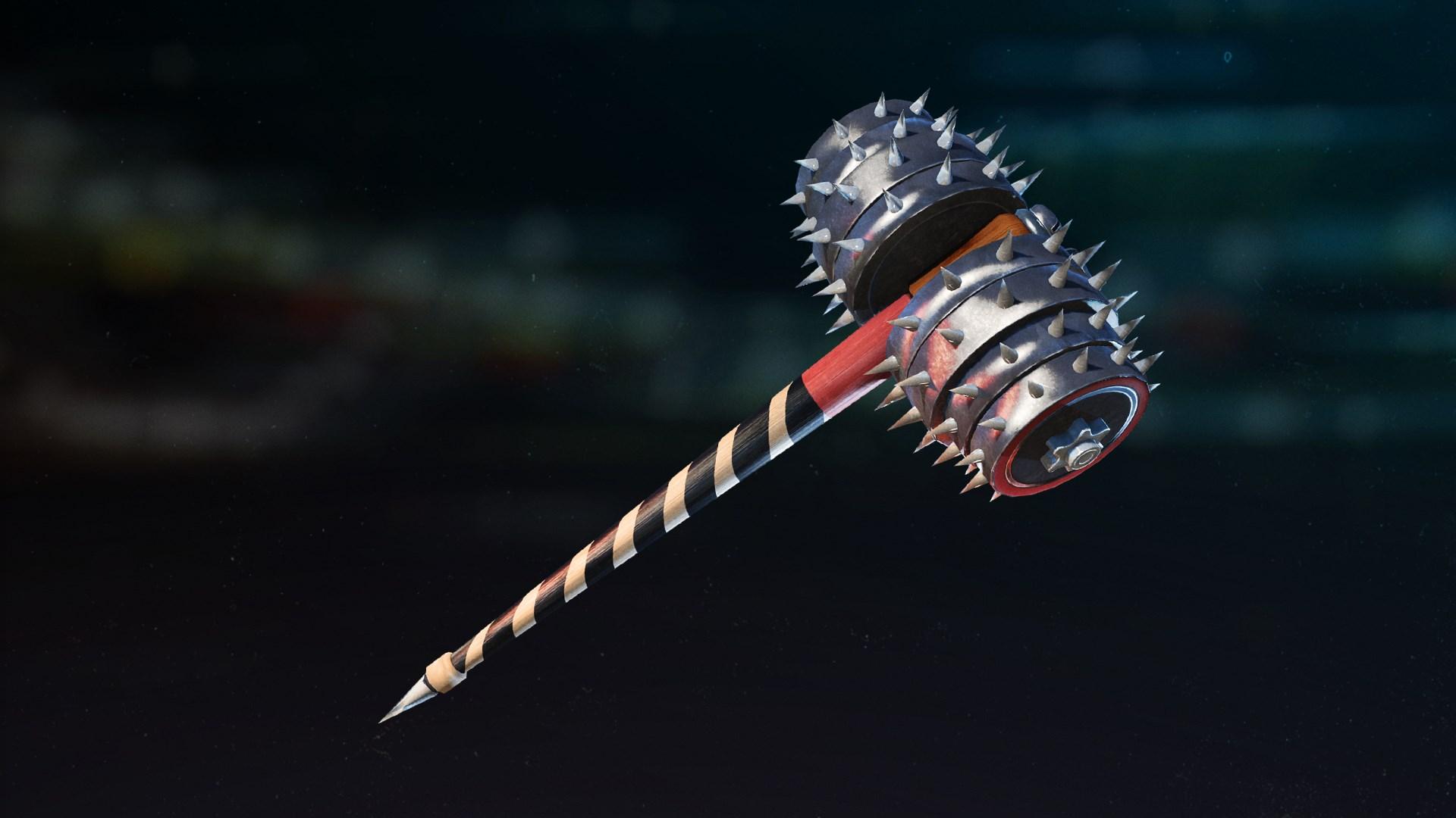 Hardcore! Hammer Melee Weapon