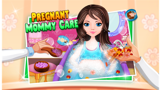 Pregnant Princess Baby Birth - Little Girls Game screenshot 1